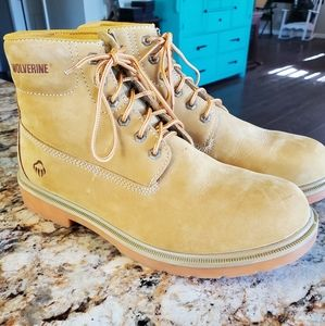 Wolverine Suede Leather Size 10.5 M BOOTS